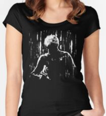 Blade Runner - Like Tears in Rain (No Text Version) Women's Fitted Scoop T-Shirt
