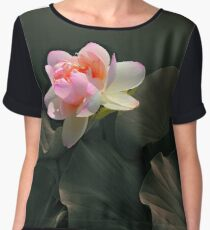 Backlit Lotus Women's Chiffon Top