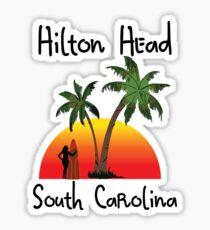 Hilton Head South Carolina. Sticker