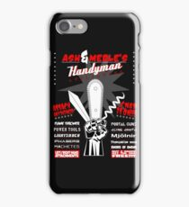 Ash & Merle's Handyman Appliances iPhone Case/Skin