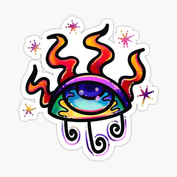 Magic Eye #2 Sticker