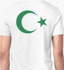 Pakistan, Pakistani, Star and crescent, Islam, Islamic, Ottoman Empire T-Shirt