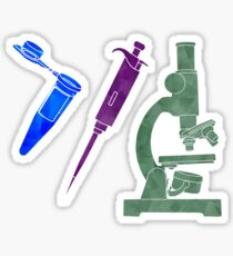 Science Sticker 3 Pack Sticker
