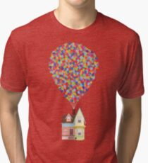 Camiseta de tejido mixto Globos