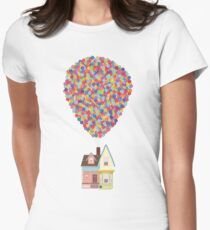 Balloons Women's Fitted T-Shirt