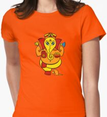 Lord Ganesha in orange T-Shirt