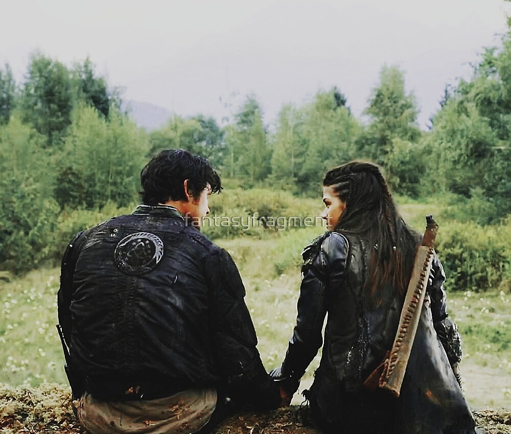 the 100 | Bellamy and Octavia Blake 1 by fantasyfragment