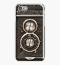 Vintage Rolleiflex Twin Lens camera iPhone Case/Skin