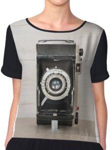 Vintage Kodak 620 camera Women's Chiffon Top