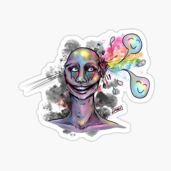 """Honest"" Self Portrait Sticker"