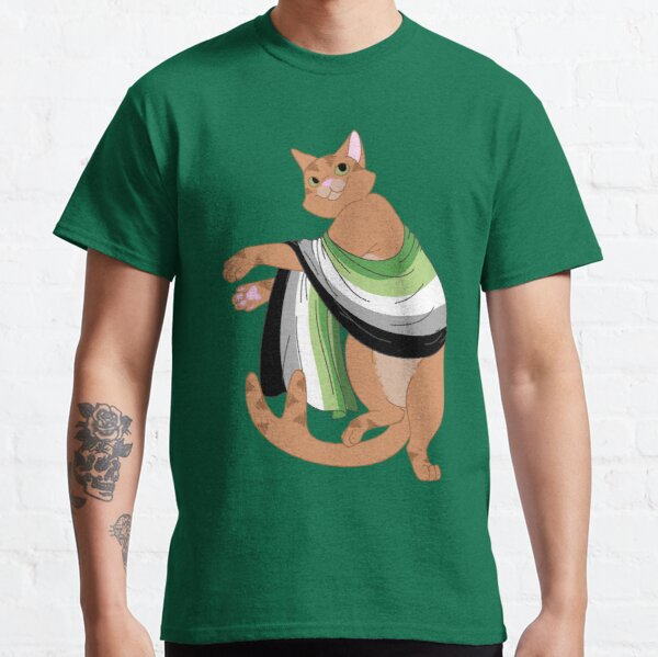 Aromantic Neko Classic T-Shirt