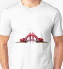 Red High Heels Unisex T-Shirt