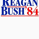 Reagan Bush 84 by Thelittlelord
