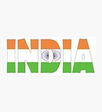 India Photographic Print