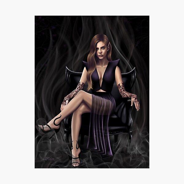 Queen of Nightmares Photographic Print