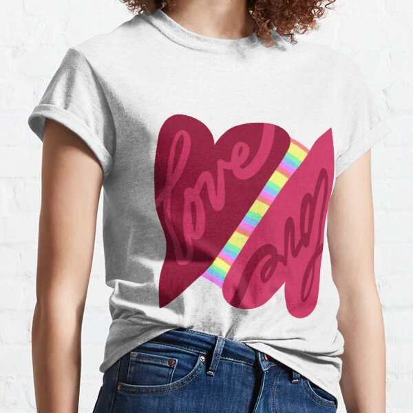 The Rainbow Connection • Love is Love Classic T-Shirt