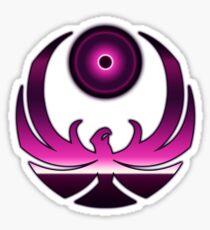 80's Digital Skyrim Nightingale Emblem Sticker