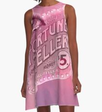 Fortune Teller  A-Line Dress