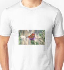 European Peacock Butterfly  T-Shirt