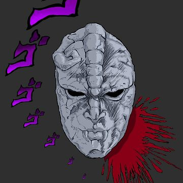 JoJo's Bizarre Adventure Stone Mask  by 9999DamagePoint