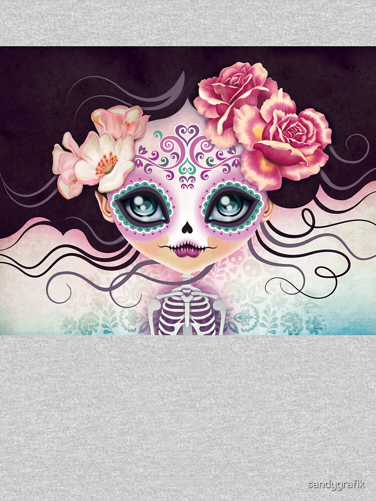 Camila Huesitos - Sugar Skull by sandygrafik