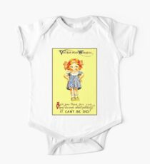 """WOMENS SUFFRAGE"" Vintage (1930s) Advertising Print Kids Clothes"