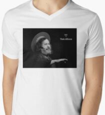 Stallman Think Different Men's V-Neck T-Shirt