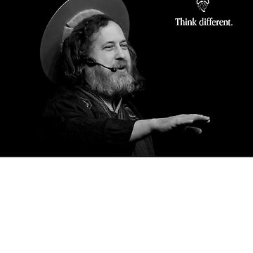 Stallman Think Different by jdylanrees