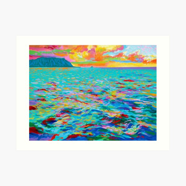 Across Kaneohe Bay Art Print