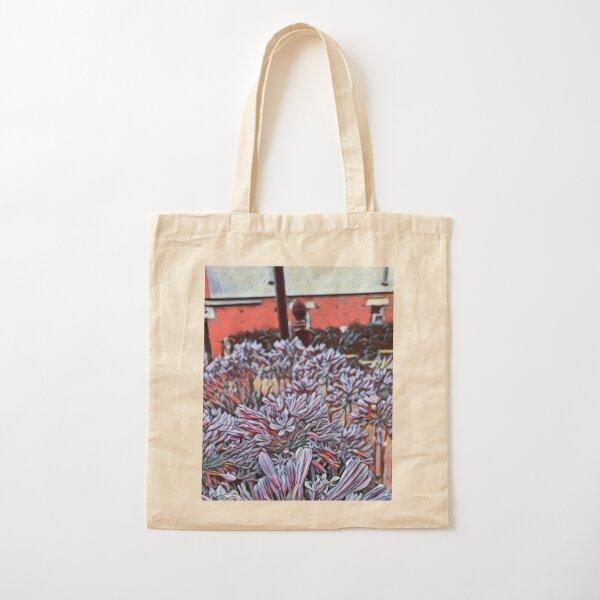 Agapanthus - Eight Cotton Tote Bag