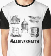 Camiseta gráfica Camiseta de apicultor Todas las colmenas importan