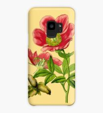 wild peony Case/Skin for Samsung Galaxy