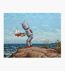 robot sailboat Photographic Print