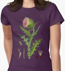 thistle Womens Fitted T-Shirt
