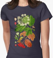 guelder rose Womens Fitted T-Shirt