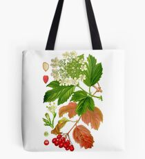 guelder rose Tote Bag