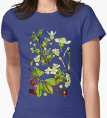sour cherry Women's Fitted T-Shirt