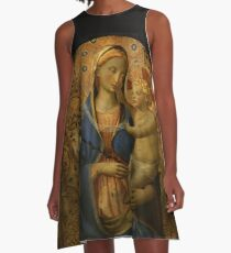 Madonna and Child - Fra Angelico A-Line Dress