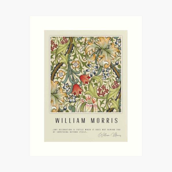 William Morris-Vegetal Lámina artística