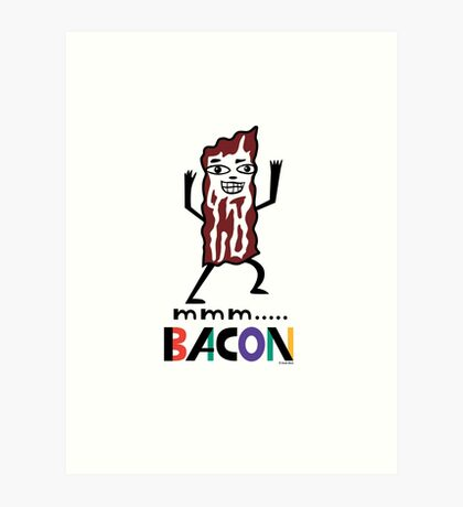 mmm Bacon Art Print