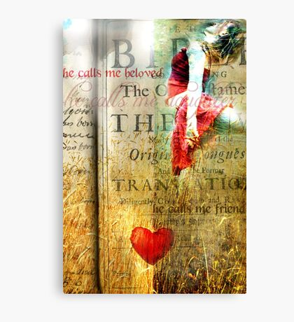 He calls me Beloved Canvas Print