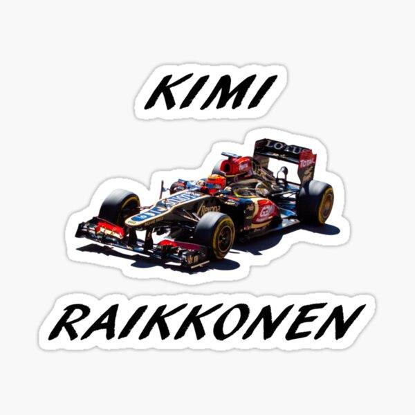 Voiture Fenêtre Autocollant-Formule 1 F1 DECAL FERRARI Sign-V01 Kimi Raikkonen #7