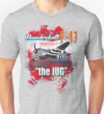 the jug P-47 Unisex T-Shirt