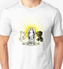 Des Anges Tattoo Crest Unisex T-Shirt