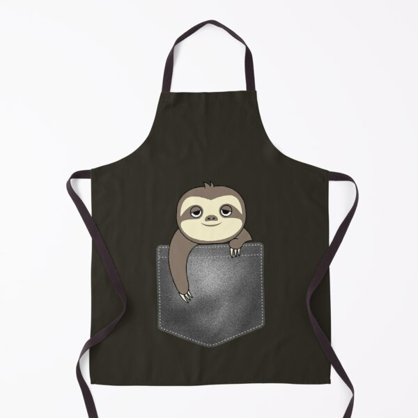 Sloth in a Pocket Apron
