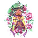Harpy Gee, Gold Rose by Brianne Drouhard