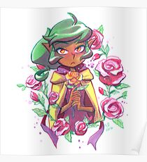 Harpy Gee, Gold Rose Poster