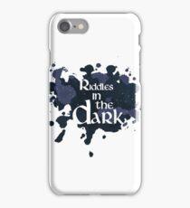 Riddles in the Dark iPhone Case/Skin