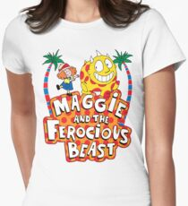 Maggie And The Ferocious Beast Women's Fitted T-Shirt