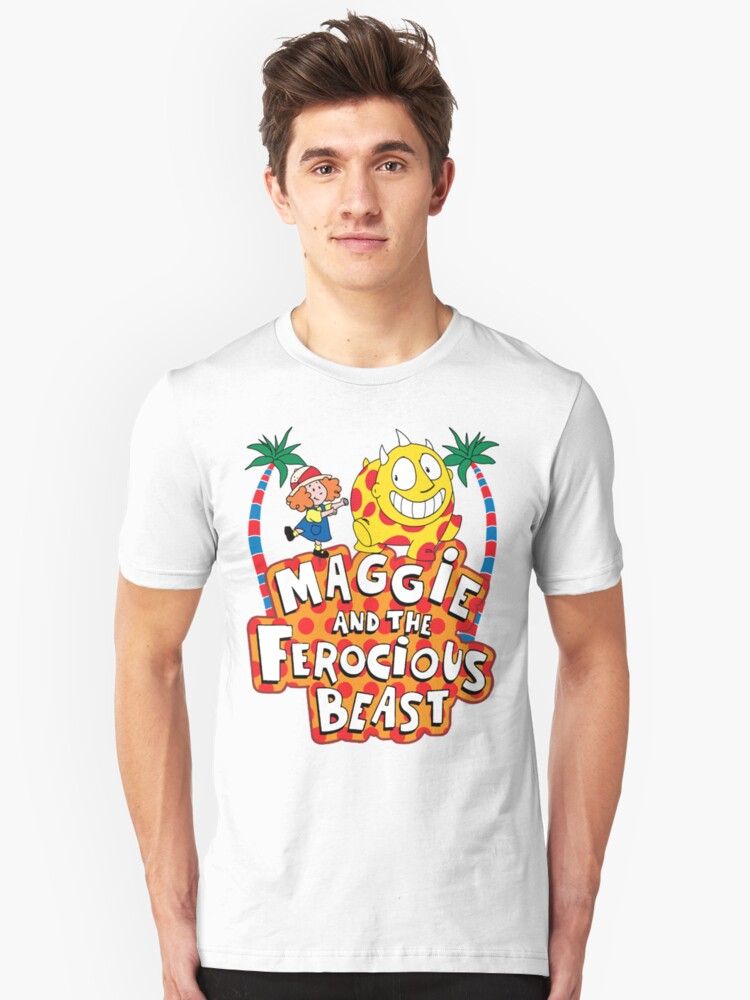 Maggie And The Ferocious Beast Unisex T-Shirt Front